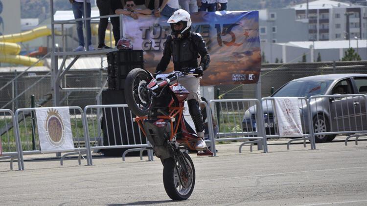 Motosiklette Avrupa Akrobasi Şampiyonası'nda Balazs Herczeg birinci oldu