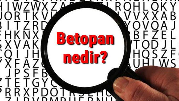Betopan nedir ve nerelerde kullanılır? Betopan özellikleri ve ölçüsü anlamı