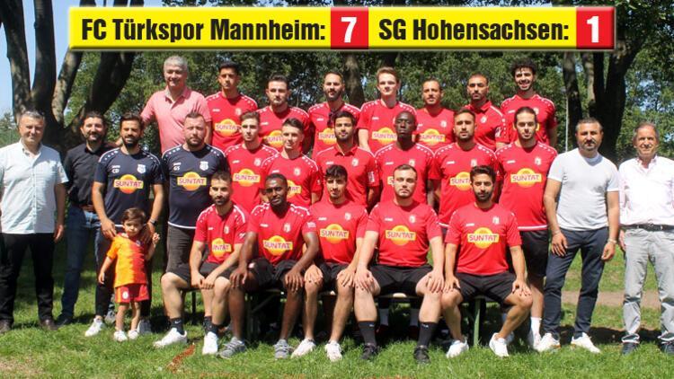 FC Türkspor Mannheim yeni yönetimiyle sezonu açtı!