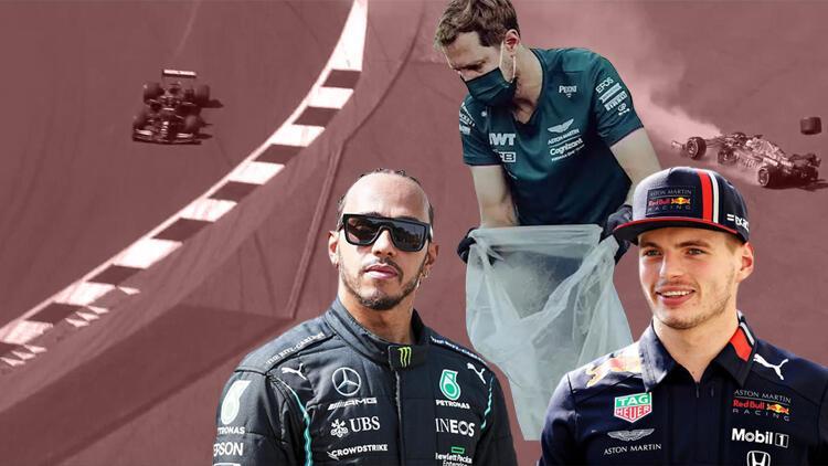 Hamilton - Verstappen... 'Sadece bir yarış kazası değil', süre bilerek mi uzatıldı? Kazanan Vettel!