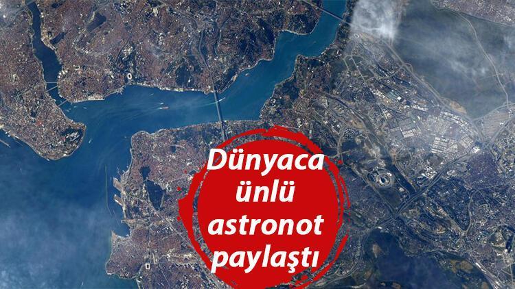 Dünyaca ünlü astronottan Türkiye paylaşımı... 'Uzaydan harika görünüyorsun Türkiye!'