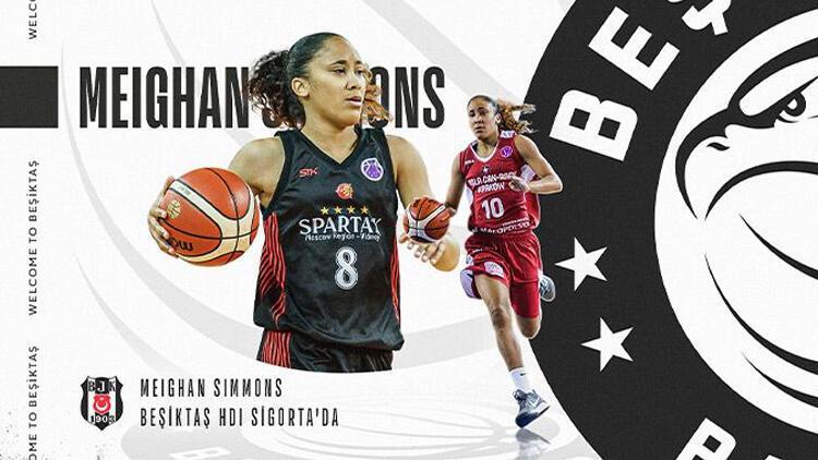 Beşiktaş Kadın Basketbol Takımı, ABD'li Meighan Simmons'ı renklerine bağladı