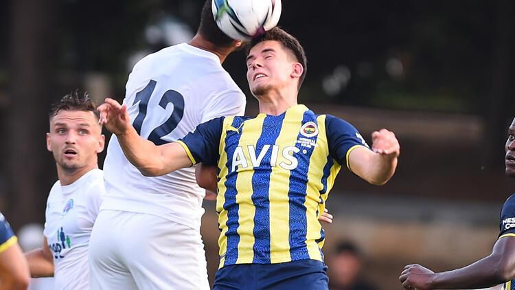 Fenerbahçe'de Ferdi Kadıoğlu ilk yarıyı tamamlayamadı