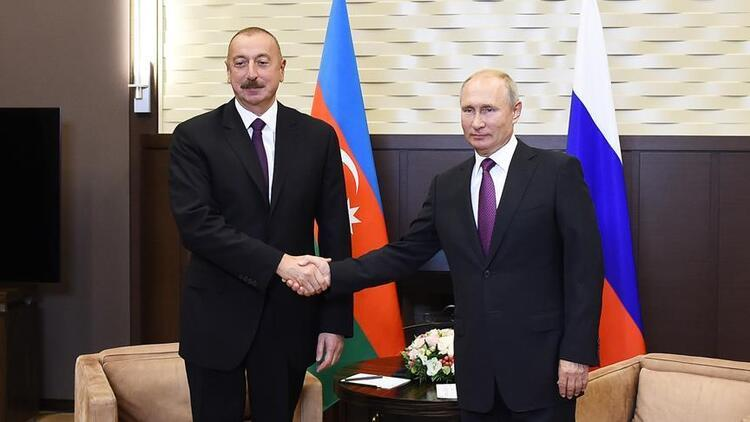 Putin ve Aliyev, yarın Moskova'da Karabağ'ı görüşecek