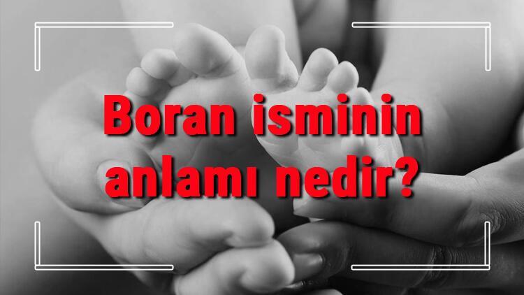 Boran isminin anlamı nedir? Boran ne demek? Boran adının özellikleri, analizi ve kökeni