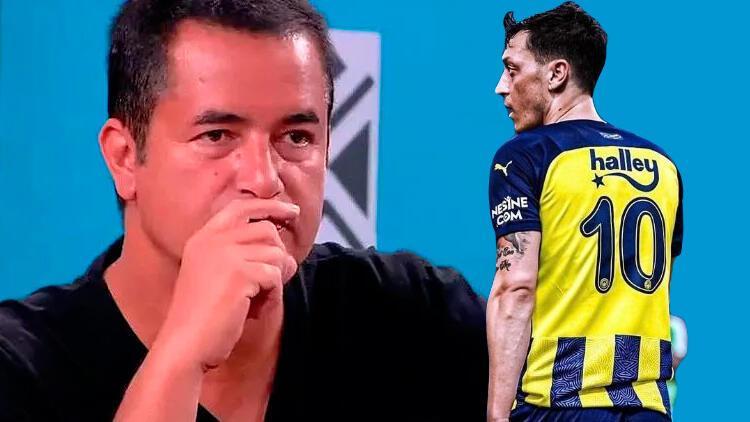 Son Dakika: Acun Iıcalı'dan yeni Mesut Özil ve Fenerbahçe açıklaması! Risk mi aldı?