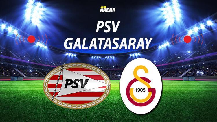 PSV Galatasaray maçı ne zaman saat kaçta? Galatasaray maçı hangi kanalda? Devler Ligi'ne ilk adım