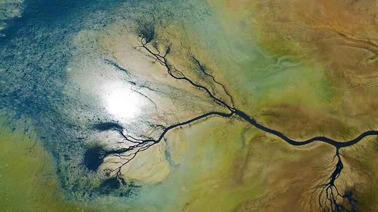 Düden Gölü'nün can damarları göründü! 'Manzaranın güzelliğine aldanmayın' deyip uyardı