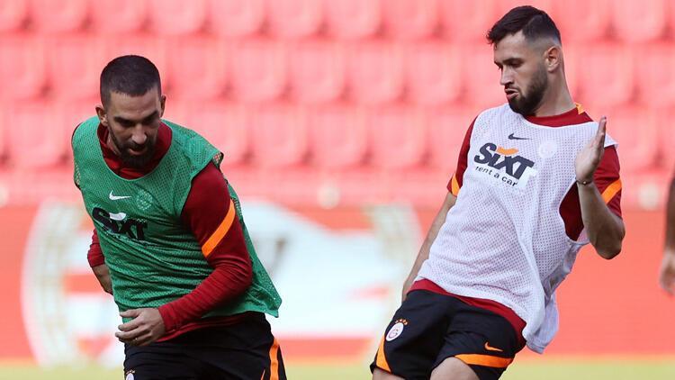 Galatasaray, PSV maçına hazır! Son antrenmana Falcao ve Feghouli de katıldı