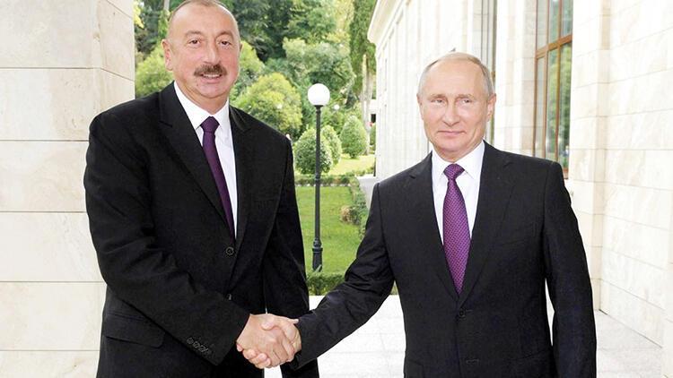 Aliyev ile Putin Moskova'da görüştü