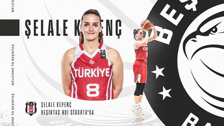 Beşiktaş Kadın Basketbol Takımı, Şelale Kepenç'i renklerine bağladı
