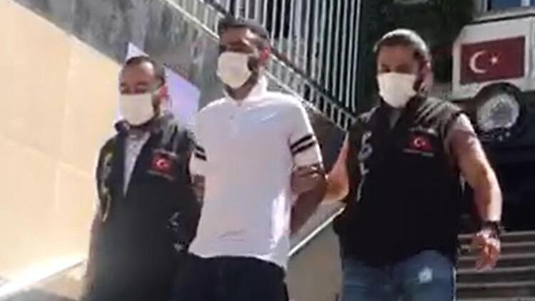 Yunanistan'a kaçmaya çalışırken sınırda yakalandı