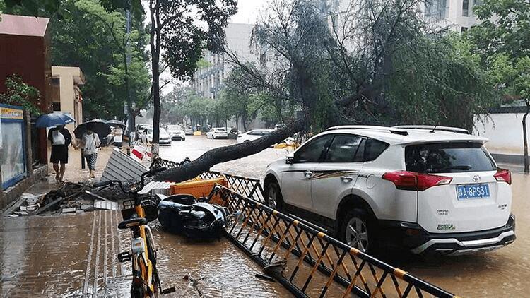 Çin'in Hınan eyaletindeki selde hayatını kaybedenlerin sayısı 33'e yükseldi