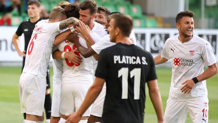 Petrocub 0 - 1 Sivasspor (Maç özeti)
