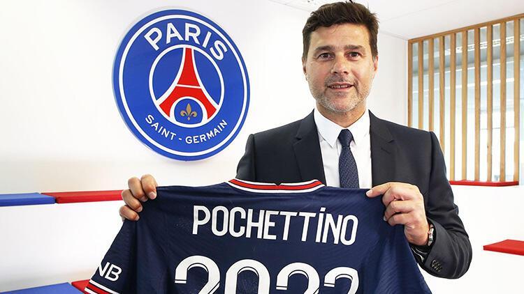 PSG Pochettino ile yeni sözleşme imzaladı