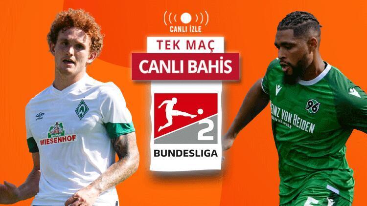 2. Bundesliga keyfini Misli.comda CANLI YAYINLARLA yaşa Bremen-Honnever maçında öne çıkan iddaa tahmini...