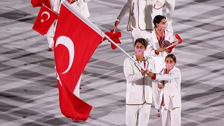 Olimpiyat tarihinde bir ilk Ülke bayraklarını...