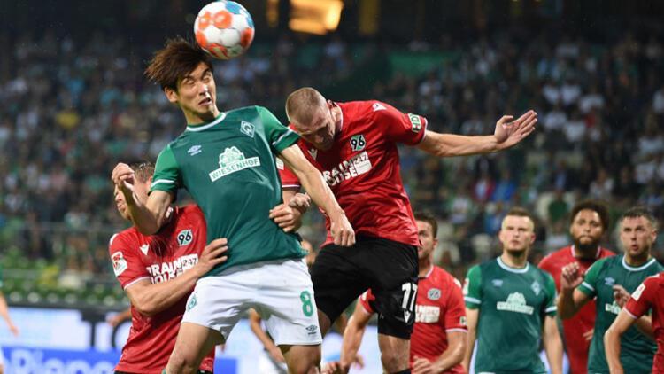 Küme düşen Bremen ilk maçta vasat oynadı
