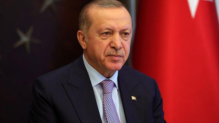 Cumhurbaşkanı Erdoğandan şehit ailelerine başsağlığı mesajı