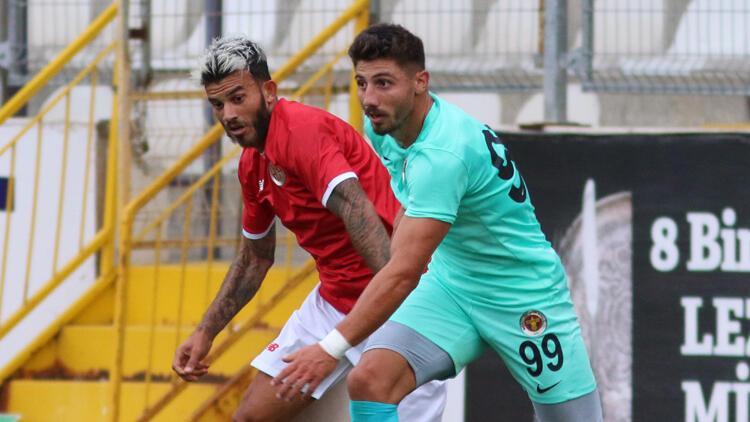 Hazırlık maçı - Fraport TAV Antalyaspor: 4 - Menemenspor: 1