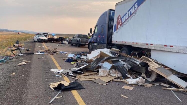 ABDde zincirleme kaza: 7 kişi öldü, çok sayıda yaralı var