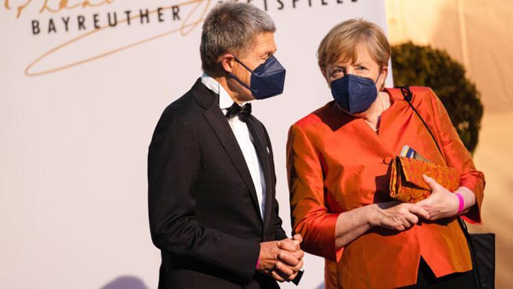 Merkel başbakan olarak son kez Bayreuth Festivali'nde