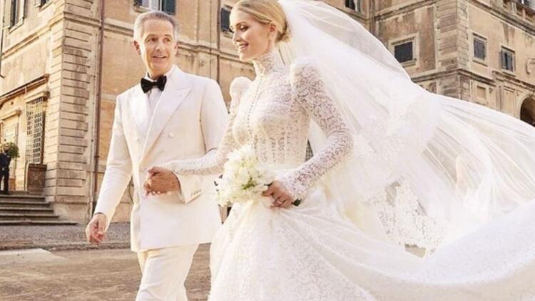 Diana'nın yeğeni Lady Kitty evlendi