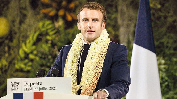 Macron, nükleer denemeler için özür dilemedi
