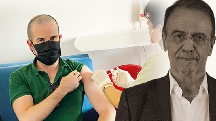 Mehmet Ceyhan fotoğrafla yanıt verdi: Oğlu aşı olmuyor tezinin sonu