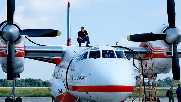 Ukrayna, orman yangınlarıyla mücadeleye destek için Türkiye'ye 2 itfaiye uçağı ve özel ekip gönderdi