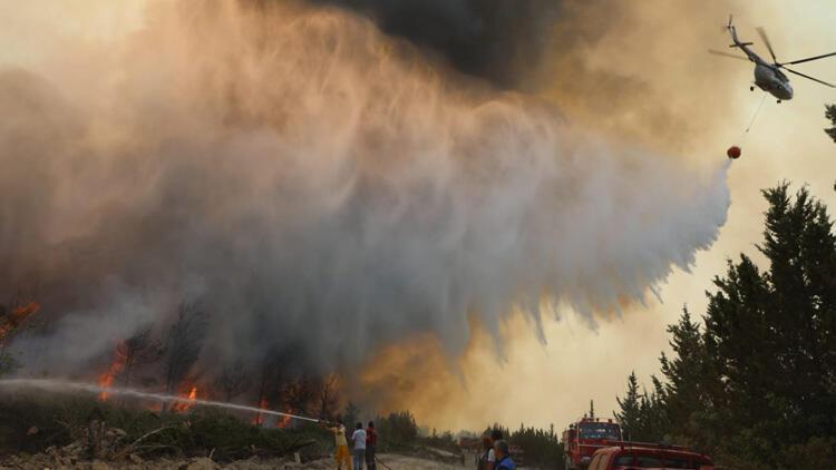 Son dakika: İşte Türkiyedeki orman yangınlarında son durum AFAD il il açıkladı