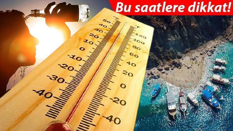Hafta sonu hava nasıl olacak Meteorolojiden sıcak hava uyarısı İşte 31 Temmuz İstanbul, Ankara, İzmir ve il il hava durumu