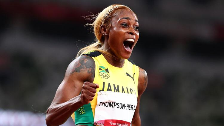 Tokyo 2020 kadınlar 100 metreyi Elaine Thompson olimpiyat rekoruyla kazandı