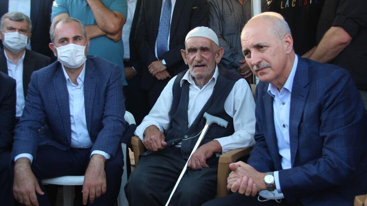 Kurtulmuştan taziye ziyareti Kıyamete kadar Türkler-Kürtler omuz omuza yaşayacağız