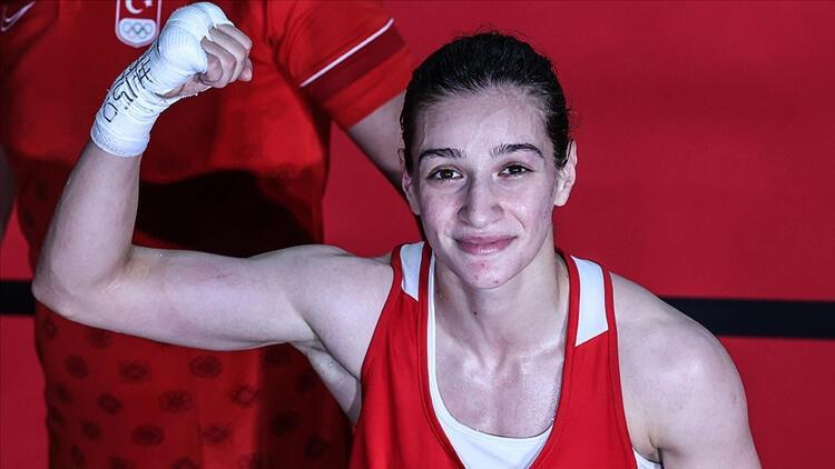 Son dakika: Tokyo 2020de Buse Naz Çakıroğlu, olimpiyat madalyasını garantiledi