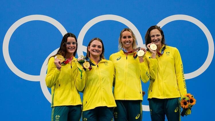Tokyo 2020de Avustralyada olimpiyat rekoruyla altın madalya