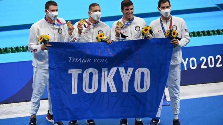 Tokyo 2020de ABDden dünya rekoru Altın madalya...
