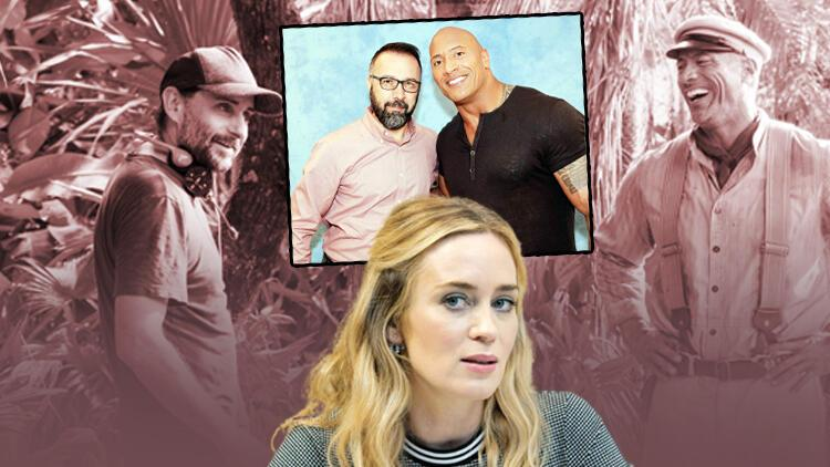 """""""Jungle Cruise"""" filminin yönetmeni Jaume Collet-Serra, başrol oyuncuları Dwayne Johnson ve Emily Blunt ile konuştuk"""