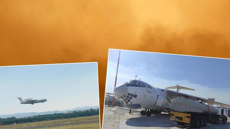 Son dakika: MSBden Rusyadan gelen yangın uçağı ile ilgili açıklama