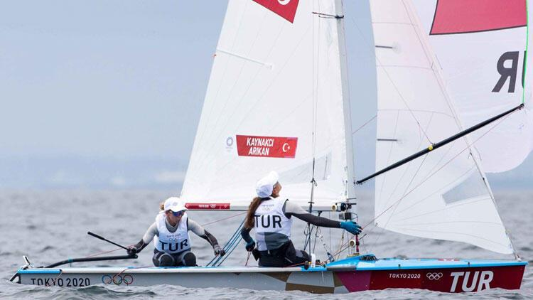 Tokyo 2020de mücadele eden Beste Kaynakçı-Okyanus Arıkan, günü 18. sırada tamamladı