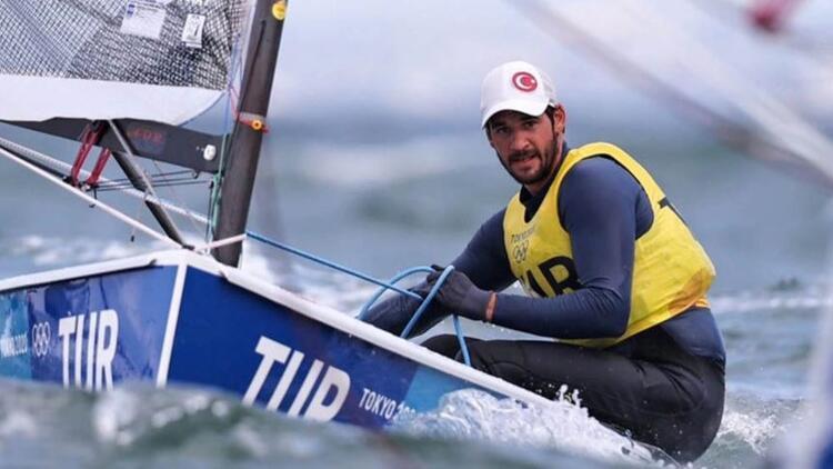 Tokyo 2020de milli yelkencimiz Alican Kaynar, madalya için yarışacak Tarihimizde ilk kez...