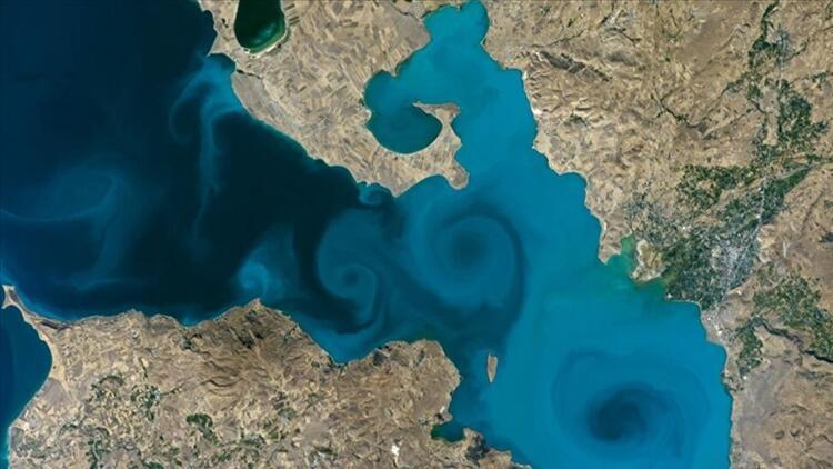 NASAnın fotoğraf yarışmasında Van Gölü fotoğrafı birinci seçilmişti - KPSSde soru olarak soruldu