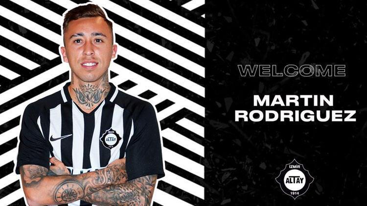 Altay, Şilili Martin Rodriguezi transfer etti