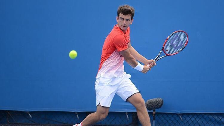 Milli tenisçi Ergi Kırkın M15 Vejle Turnuvasında şampiyon oldu