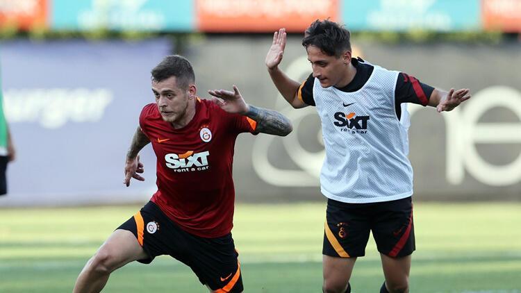Galatasarayda St. Johnstone maçı mesaisi
