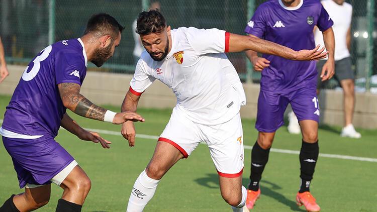 Göztepe, hazırlık maçında Nazilli Belediyesporu 3-1 yendi