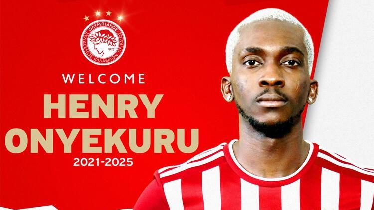 Son Dakika: Henry Onyekuru transferi resmen açıklandı.