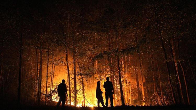 Rusyada 217 noktada yangın ile mücadele