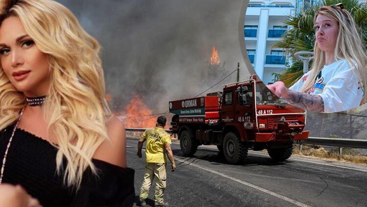Yangın paylaşımına tepki yağdı... Fenomen isim özür diledi