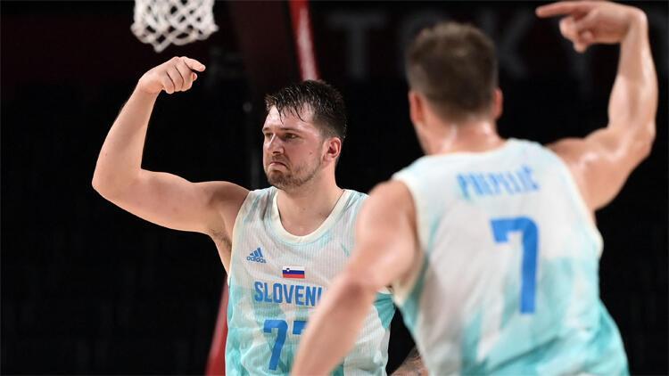 Son Dakika: Dragic ve Doncic Slovenyayı Tokyo 2020de yarı finale taşıdı